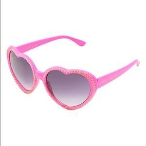Betsey Johnson Pink Rhinestones Sunglasses NeW